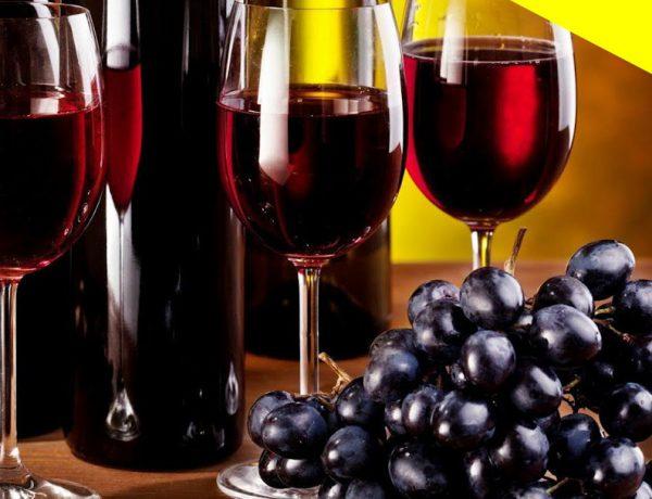 vino y uvas en marte