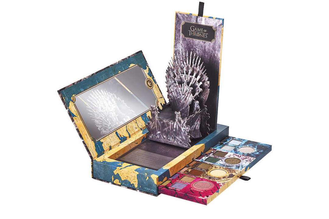 "Urban decay presenta su colaboración con ""Game of thrones"""
