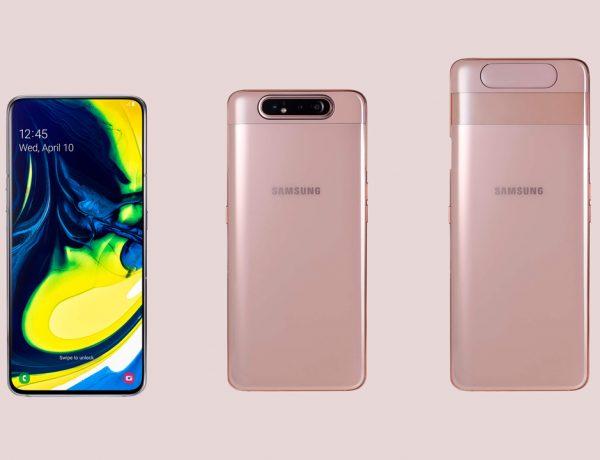 El nuevo Samsung Galaxy A80 contará con una cámara rotatoria y con pantalla sin bordes