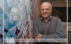 Con seis décadas de incesante trabajo, la obra de Emilio Abugarade transmite su pasión por la vida y el arte.