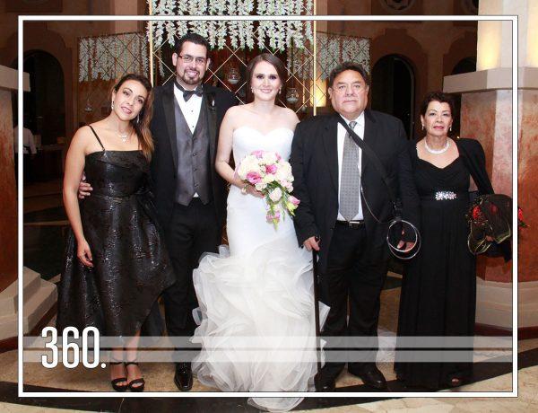 ALBERTO Y ROXANA AHORA SON MARIDO Y MUJER