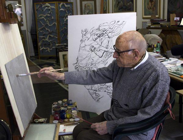 El canal de Giorgio Michetti está dedicado a la pintura y cuenta con más de 2 mil seguidores