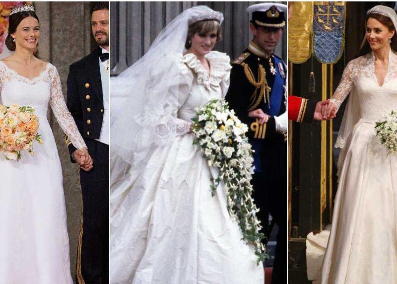 royal weddings vestidos novia