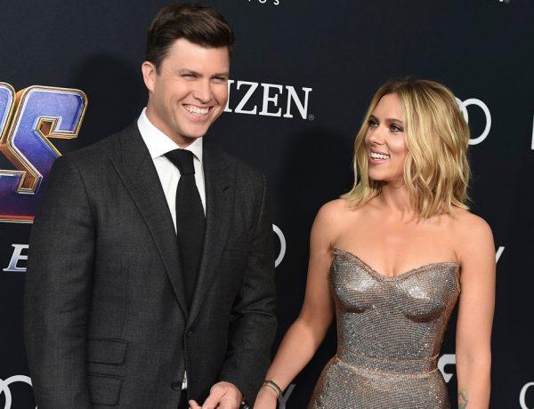 Scarlett Johansson se comprometió por tercera ocasión en menos de diez años; no hay más información de la boda.