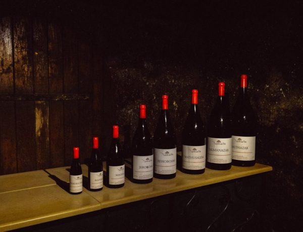 tamaño botellas de vino