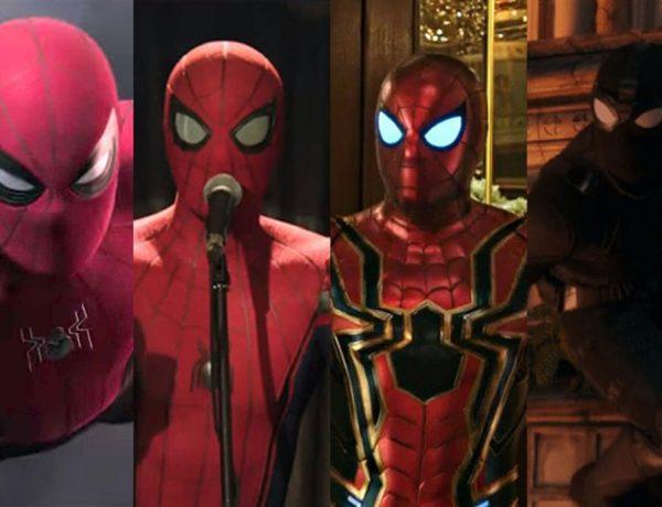 trajes spider man lejos de casa