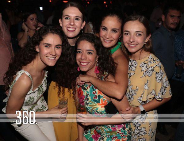 Ana Gaby Herrera, Gaby Cepeda, Andrea Cardona, Caro Vega y Jimena Fernández.