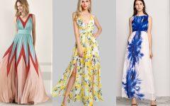 Los vestidos son una muy buena opción para verte femenina y a la moda, pero en esta época de lluvias pueden resultar un inconveniente. Olvídate de esos problemas con los vestidos largos.