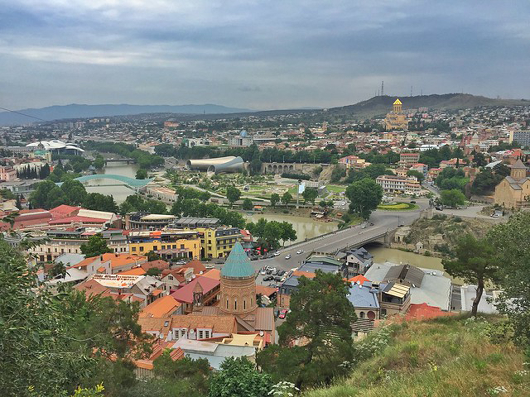 viajes Cáucaso-en-Kazbegi-Georgia