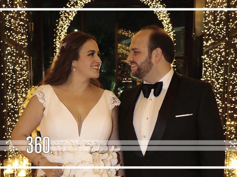 María Esther y Carlos unen sus vidas en Monterrey