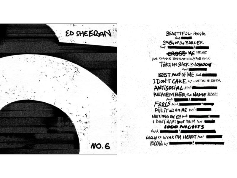 El nuevo disco incluye colaboraciones con grandes artistas como Justin Bieber, Camila Cabello, Eminem, 50 Cent, Travis Scott, Bruno Mars, Chris Stapleton, entre otros.