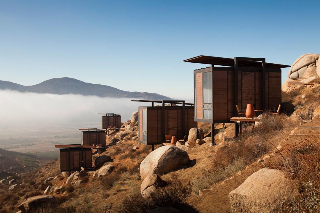 Disfruta de la vida al aire libre rodeado de un ambiente campestre mientras recorres la Ruta del Vino en Ensenada, Baja California.