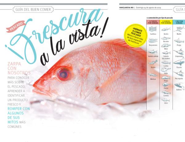 Zarpa con nosotros para conocer más sobre el pescado, aprender a identificar un producto fresco y romper con algunos de sus mitos más comúnes.