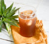 El tepache ayuda a mejorar el proceso digestivo y alegrar la vida.