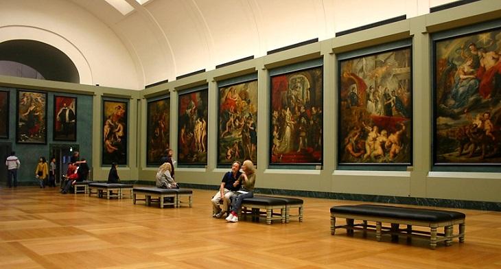 Museo louvre galería apolo