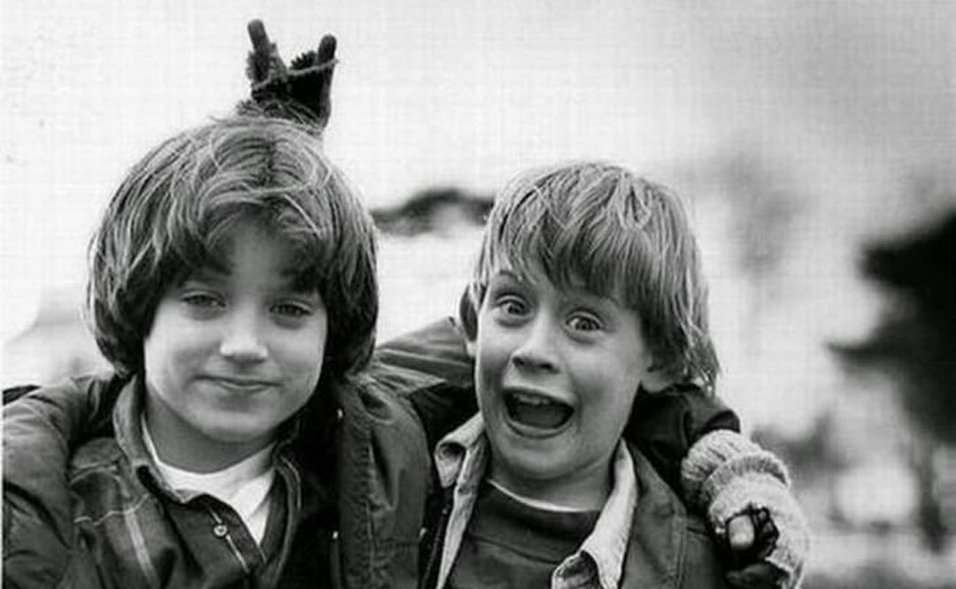 Elijah Wood y Macaulay Culkin,