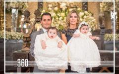 Paty Villaseñor y Javier López bautizaron a sus dos hijos