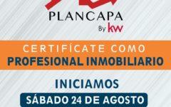 "CERTIFICATE COMO PROFESIONAL INMOBILIARIO ""PLANCAPA"""