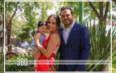 Lorenzo Macgregor Aguirre fue bautizado frente a Dios y su familia el sábado 10 de agosto.