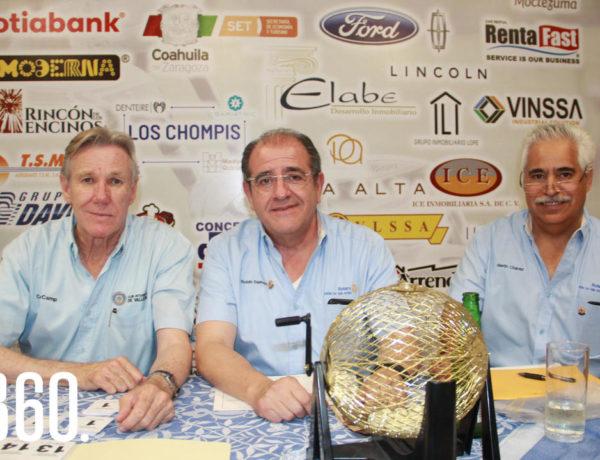Ante el gran torneo de golf organizado por el Club Rotario de nuestra ciudad, estosmismos decidieron llevar a cabo una sesiónrompehielos con los participantes el 22 deagosto en el Club Campestre.