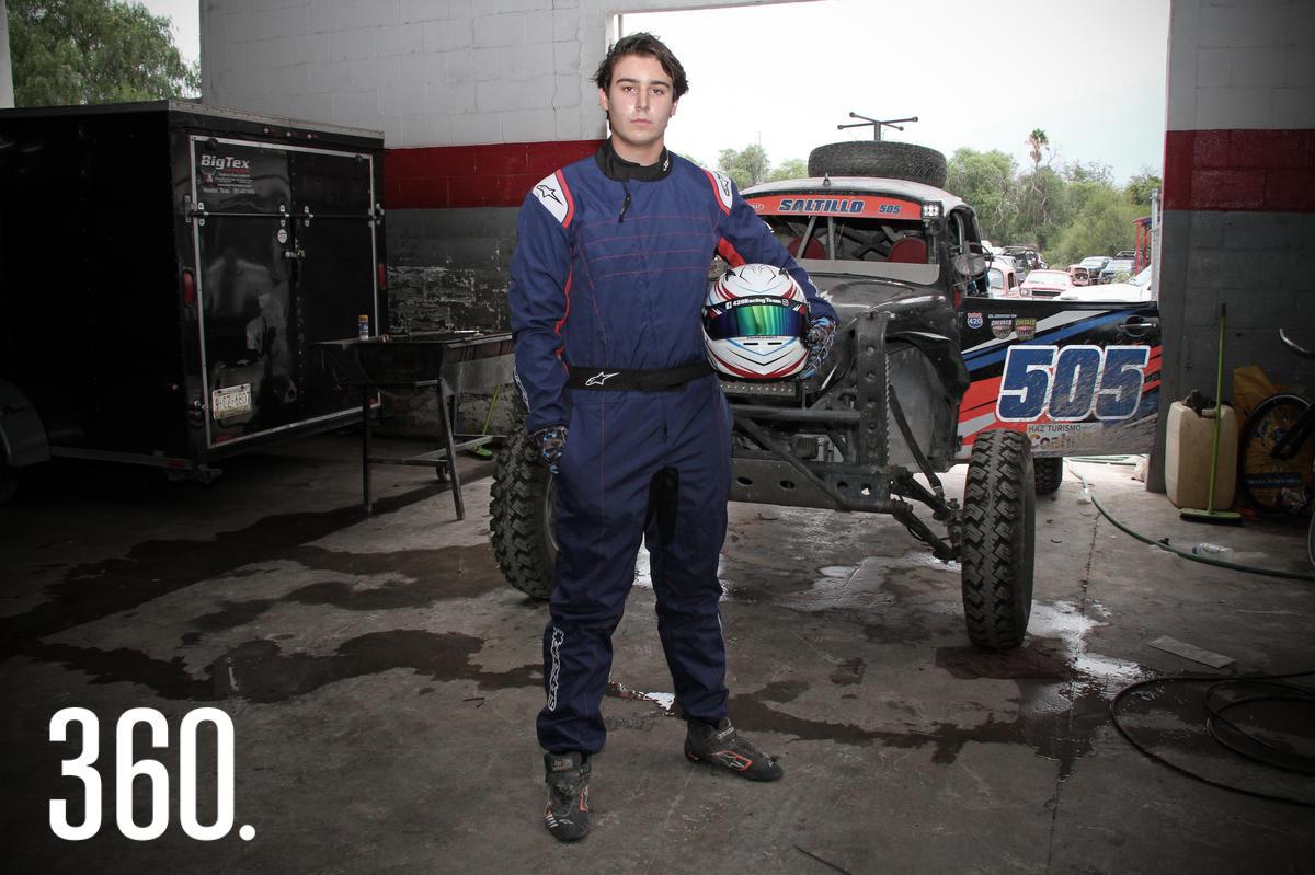 Manuel Alvarez Dainitín es corredor saltillense con grandes éxitos en competencias como la Coahuila 1,000 y la Rotax Max Challenge.