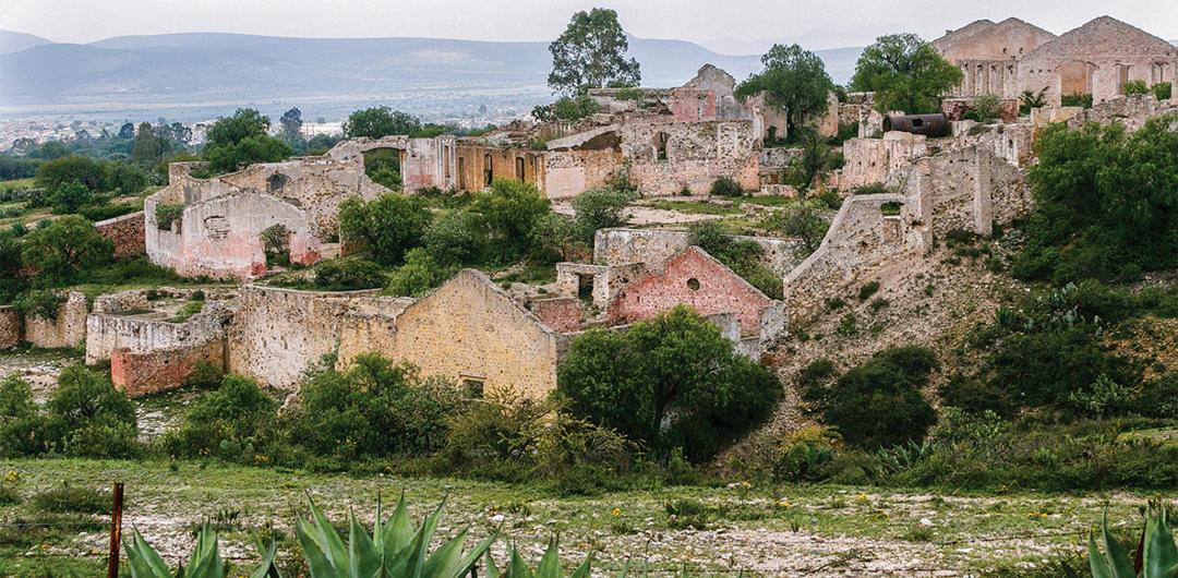 Lugares de mexico fantasmas Mineral de Pozos