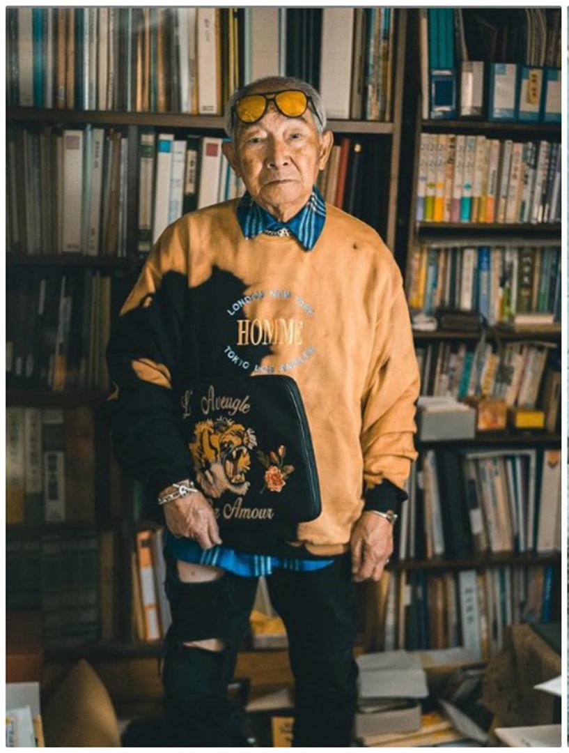 Abuelos blogueros Tetsuya Kudo