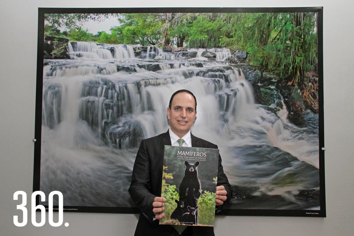 Daniel Garza Tobón fue galardonadocon la Presea Manuel Acuña por sutrabajo enfocado en la naturaleza yla preservación del medio ambiente.