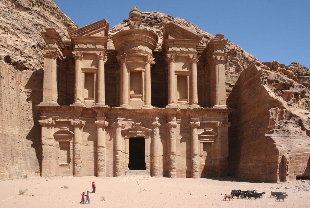 Jordania, Petra, El Monasterio.