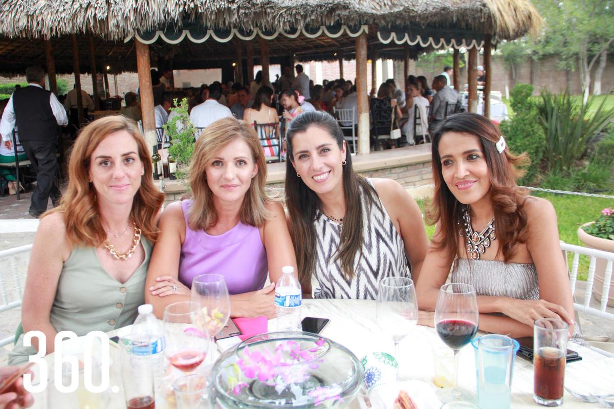 Lety González, Mariana Fanti, Alejandra Saucedo y Elizabeth Manriques.