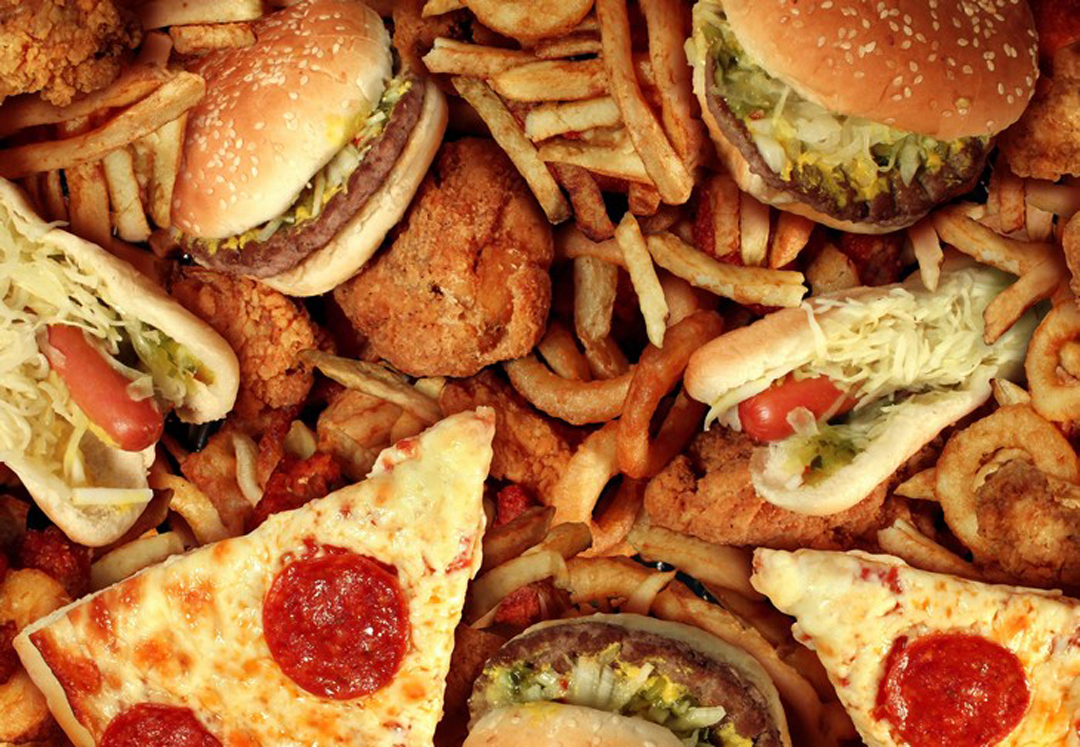 Alimentos dañinos estómago intestino