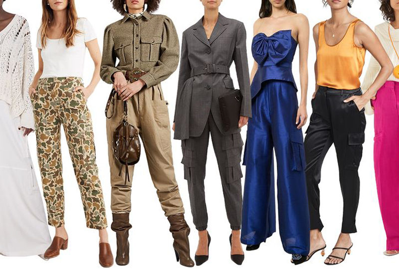 Moda pantalones cargo