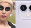 Lady Gaga comparada iPhone