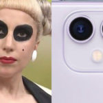 Lady Gaga comparada iPhone