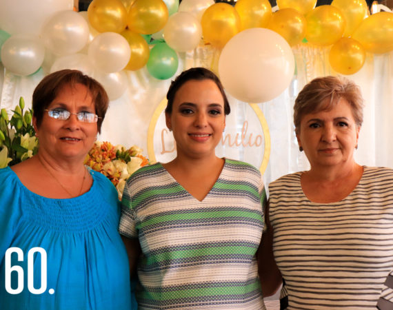 Linda Flores, Norma Hinojosa y Norma Leticia Sepúlveda.