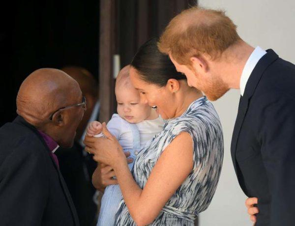 Visita Meghan y Harry Africa con Archie