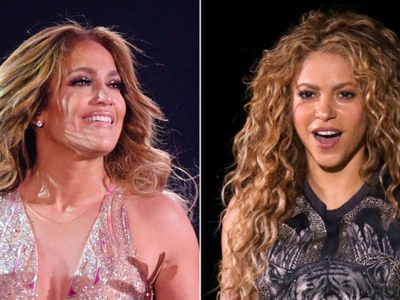 Shakira y Jennifer Lopez super bowl
