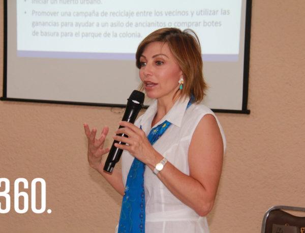 Conchita Aguirre de Arizpe directora de ANSPAC Saltillo presidio el inicio del ciclo 2019-2020 en su cuadragésimo segundo aniversario.