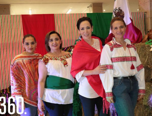 Astrid Amalla, Pilar Flores, Melissa Garza y Luz María Díez.