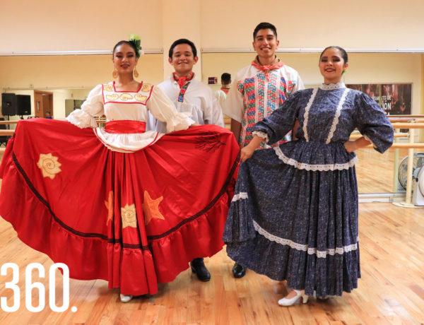Ximena Martínez, Samuel Rojas, Gerardo Sánchez y Lindsay Flores.