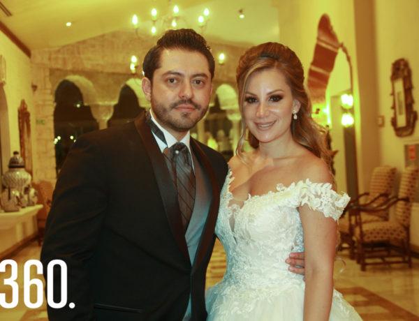 Ramón Moncada y Amal Esper.