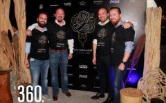 Pedro, Emanuele, Blas y Fabio Gentiloni Arizpe celebraron con clientes y amigos el 2do. Aniversario de IL Mercato Gentiloni.