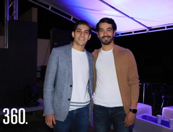 Aldo y Rodrigo Del Bosque.