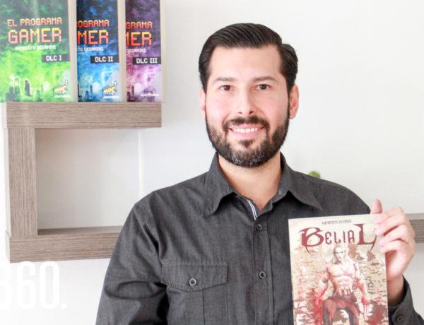 Belial, la nueva novela de Jorge Humberto Decanini, sigue la historia de Gotnov, un villano que creció en la Unión Soviética.