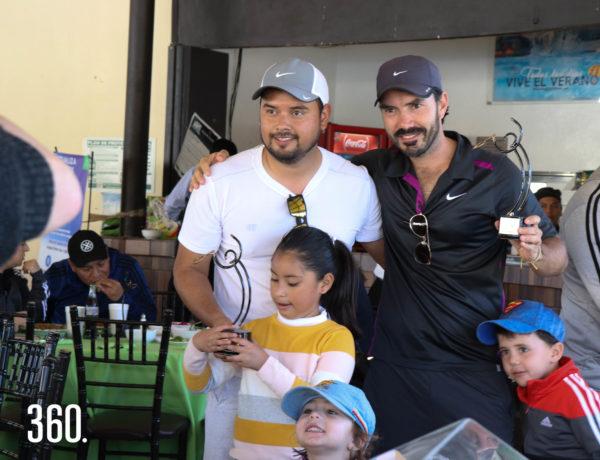 Fernando Garza y Jaime Morales, campeones categoría varonil A.
