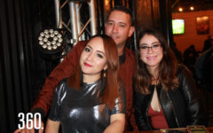 Celina Garza, David Cortés y Magali Martínez.
