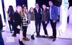 Sabrina Garza, Andrea Elías, Diana Zavala, Ricardo Villanueva, Paulina Sánchez y David Sánchez.