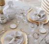 Adornar la mesa para la cena de Navidad es una oportunidad para explotar la creatividad y cuidar el ambiente.