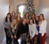 Aracely Rodríguez, Diana Baker, Hilda de Luna, Roció Díaz, Norma López, Nancy Cabrera, Paola Ortega, Pamela Tatum, Ana Valenzuela y Adriana Ramos celebraron su onceava Posada.