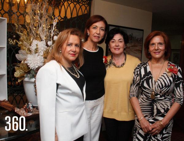 Pilar Sierra, Male Berlanga, Tere Gándara y Cirenia García.